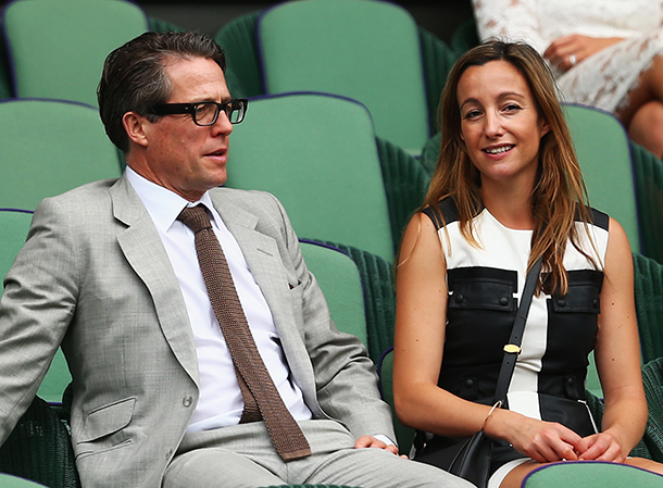 Hugh Grant and Anna Eb...