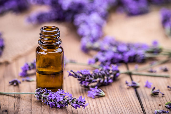 Lavender is soothing on the skin