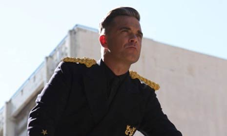 Robbie Williams reveals video for new single inspired by daughter Teddy