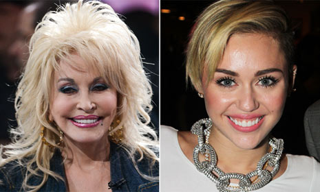 Dolly Parton defends goddaughter Miley Cyrus saying she's 'just trying to find her own place'