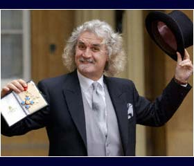 Billy Connolly receives CBE