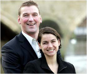 Matthew Pinsent celebrates knighthood