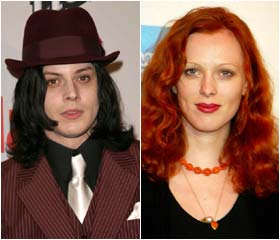 Jack White weds British model