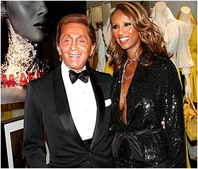 Valentino and Iman host cocktail