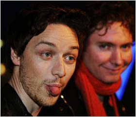 Special screening for James McAvoy film