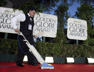 Final preparations for Golden Globes