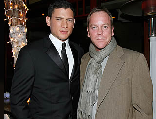 Wentworth and Kiefer attend Fox bash
