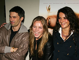Olivier at Blood And Chocolate premiere