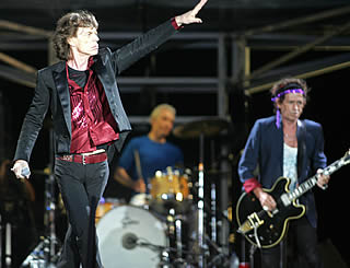 Stones top US music rich list
