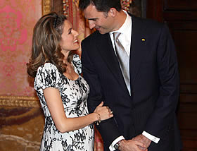 Letizia of Spain is blooming