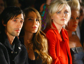 Celebs pack front row as NY fashion shows kick off