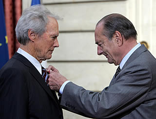 Clint Eastwood receives French honour
