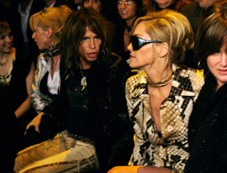 Celebs fill up front rows at Milan