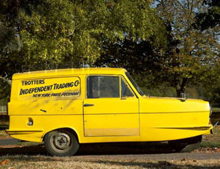 Trotter's van up for auction