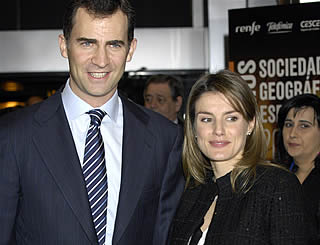 Felipe and Letizia attend awards event