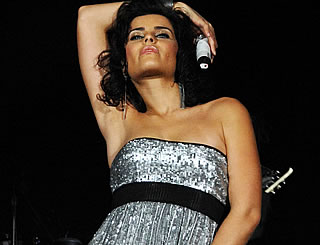 Nelly Furtado loosens up in Germany
