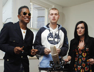 Jermaine helps young British musicians
