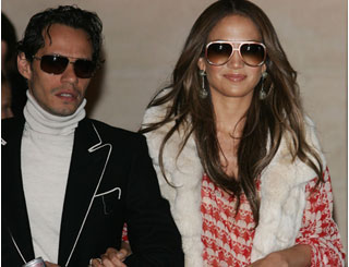 Stylish Marc and J Lo wow Paris