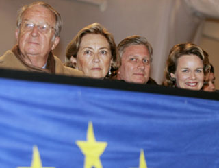 Belgian royals join EU celebrations