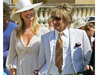 Rod and Penny planning Italian wedding