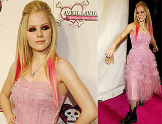 Avril's pretty in punk