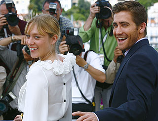 Jake and Chloe among first arrivals in Cannes