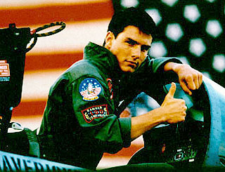 Top Gun Tom's dreams of a new fighter plane
