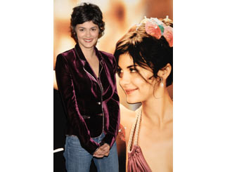 Audrey Tautou presents her latest flick in Madrid