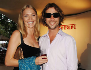Car lovers Jodie and Jay Kay attend charity bash