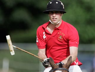 Action man Wills plays polo for Army