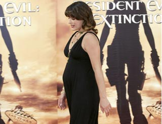 Milla Jovovich promotes her latest flick in Germany