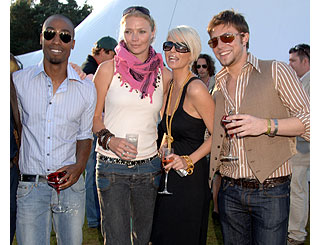 Jodie Kidd hosts polo bash