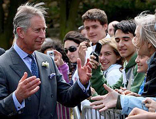 The Prince of Wales visits Lincolnshire