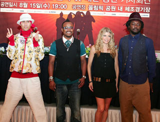 Black Eyed Peas to play Seoul