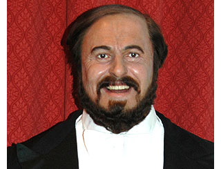 Pavarotti sent home from hospital