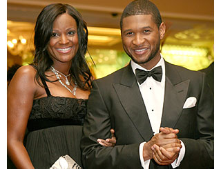 Usher and Tameka Foster marry again
