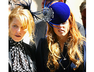 Fergie and Beatrice pay respects to late Isabella Blow