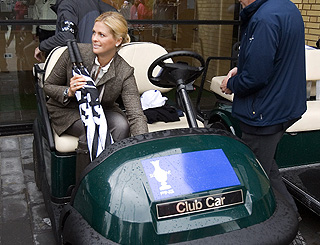 Princess Madeline attends golf tournament