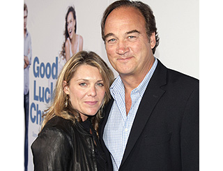 Jim Belushi and wife attend LA screening