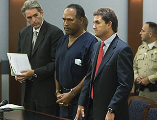 OJ freed on bail