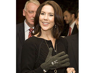 Princess Mary given 'handy' personalised gift