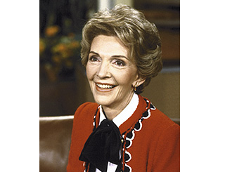 Nancy Reagan's gowns to go on display