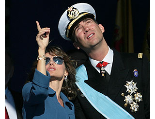 Spanish royals celebrate national holiday
