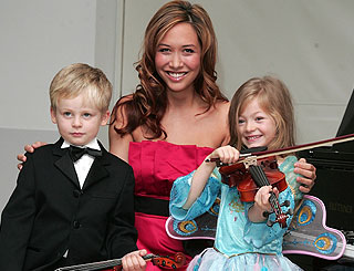 New mum Myleene launches a children's favourite