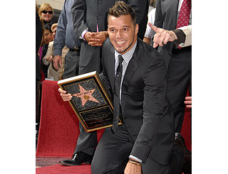 Ricky Martin lands his own star on legendary walkway