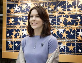Starry stamp launch for Princess Mary