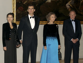 Spanish royals open Prado extension