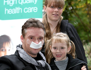 Russell Watson discharged from hospital