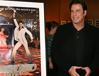 Saturday Night Fever all over again for John Travolta