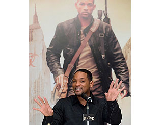 Will Smith takes I Am Legend to Asia